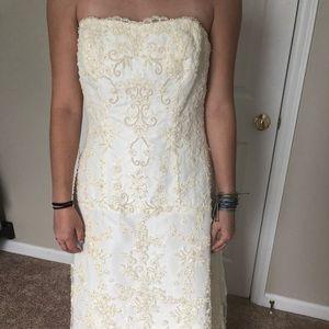 Michael Angelo Wedding dress